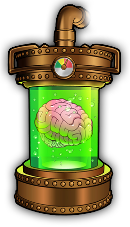 Mad Scientist's Brain Vat.